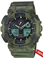 casio rucni sat g-shock GA-100MM-3A